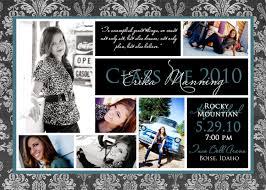 make your own graduation announcements graduation photo invitations vertabox