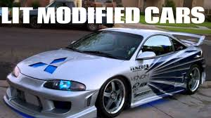 lit modified cars youtube