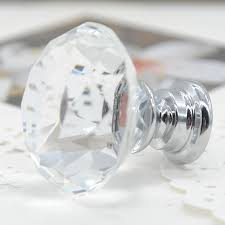 Crystal Cabinet Knobs Cheap Double Clear Cabinet Knobs Cabinet Hardware Room Remodeling