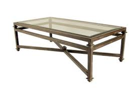 Rustic Iron Coffee Table Kreiss Montreal Coffee Table