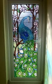 leaded glass door repair recently completed traditional stained glass window in a double