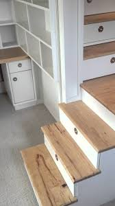 loft bed with stairs drawers closet and desk youtube