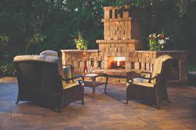 Design A Backyard Online Free by Interior Backyard Patios Flagstone Patio With Stone Fireplace And