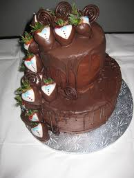 Grooms Cake Starwberries And Chocolate Grooms Cake