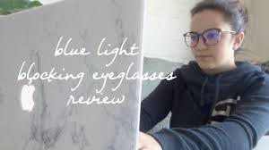 blue light glasses review blue light blocking eyeglasses firmoo review laurie lo youtube