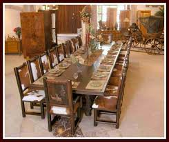 bloombety rustic italian furniture for long dining table 20
