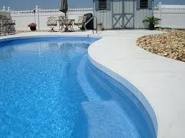stamped concrete pool deck ideas pool concrete paint ideas stylish