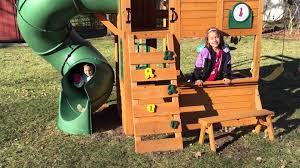 big backyard summerlin playset review youtube