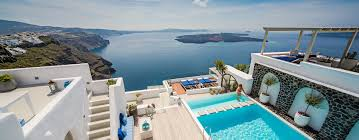 iconic santorini luxury boutique cave hotel imerovigli greece