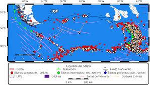 Generic Mapping Tools Mapas Geológicos 10 Leyenda Mapa De Ubicación Y Valores Por