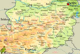 Austria World Map by Nordalpenweg 1