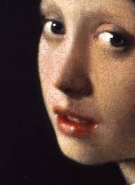 painting the girl with the pearl earring johannes vermeer girl with a pearl earring detail ca 1665