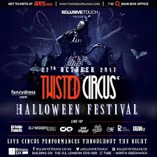biggest halloween party london twisted circus twistedcircusuk twitter