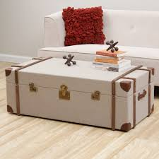 coffee tables mesmerizing storage trunks and chests trunk end