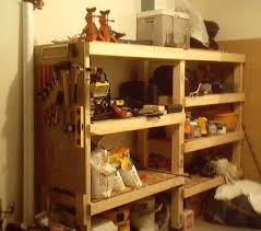 Free Standing Shelf Plans by Woodwork Plans For Simple Garage Wooden Shelves Pdf Plans