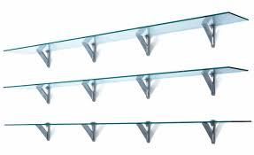 modular shelf wall mounted contemporary aluminum to the