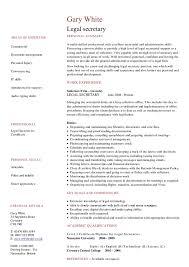 sample legal secretary resume senior attorney resume legal