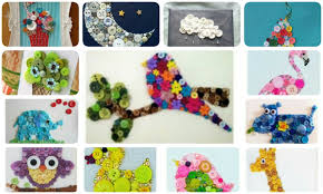 50 button creative ideas useful for kids crazzy craft