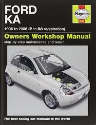 ford ka service and repair manual 96 08 haynes service and