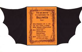 calm halloween invitations wording card with gold background color