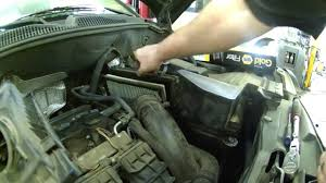jeep compass change air filter replacement 2007 jeep compass 2 4l how to change your