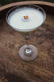 eggnog martini recipe melted snowman martini drinks u0026 decor