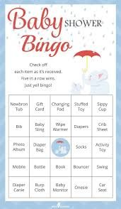 baby shower for large groups printable baby shower bingo for large groups