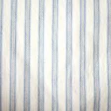 Blue Ticking Curtains Blue Ticking Curtains Designs Mellanie Design