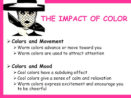 effect of color on mood color in fashion learning targets describe the impact of color on