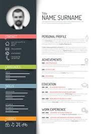 top 5 infographic resume templates u2026 pinteres u2026