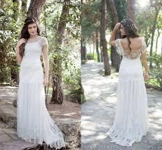 popular cream lace wedding dress buy cheap cream lace wedding