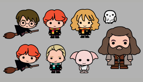 Harry Potter Designs Harry Potter Characters Re Imagined In Adorable New Designs