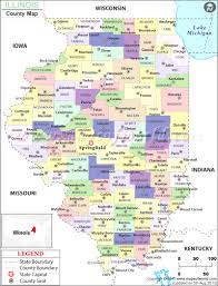 illinois map usa illinois county map counties of in also maps usa creatop me