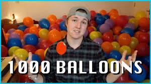 party in my bedroom 1000 balloons in my bedroom birthday prank youtube