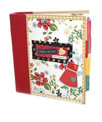 Scrapbook Binder 91 Best Scrapbook Recipe Album Images On Pinterest Recipe Books