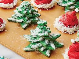 snowy tree cookies recipe southern living