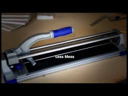 How to Use a Kobalt Tile Cutter