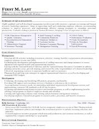 Human Resource Resume Sample Mattischro Page 20 Examples Of Human Resources Resumes Shift