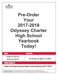 ordering high school yearbooks odyssey charter schools yearbook pre order odyssey charter schools