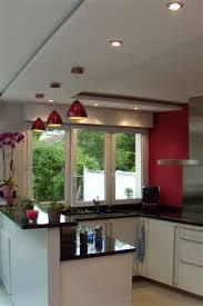 faux plafond cuisine design cette cuisine fait partie d une maison à maur des fossés le