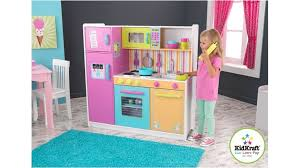 Deluxe Kitchen Play Set by Kidkraft Deluxe Big And Bright Kitchen Play Set Role Play Role