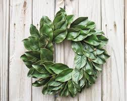 magnolia wreaths etsy