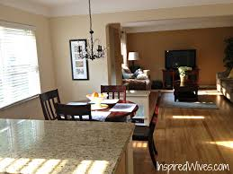 open floor plan kitchen and living room pictures small story