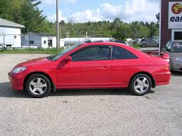 cars honda earthy cars blog earthy car of the week 2004 red honda civic coupe