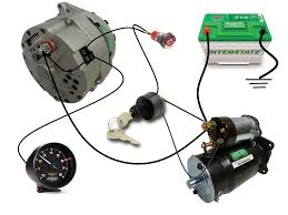 simple wiring diagram for alternator efcaviation com