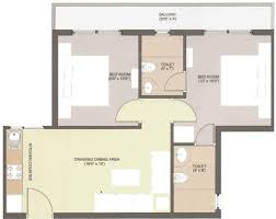 500 sq ft 2 bhk 2t apartment for sale in mahendra shantima sector