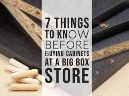 best big box store kitchen cabinets shopping for cabinets at big box stores consider these 7
