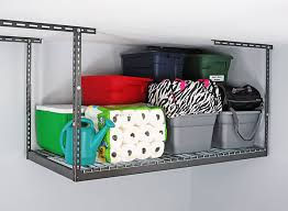 Garage Ceiling Storage Systems by 7 Garage Overhead Storage Tips That Help You Use Your Space Wisely