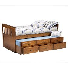 Under Bed Storage Ideas Bed U0026 Bedding Bernards Twin Captains Bed With Trundle And