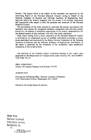 front matter environmental impact of stratospheric flight